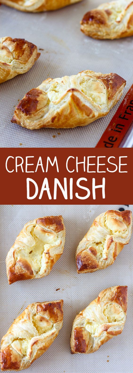 Easy Cream Cheese Danishes | Recipe | Cream cheeses, Cream cheese ...