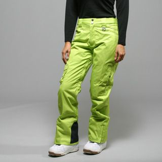 @Overstock.com.com - MARKER...These lime green Flair insulated ski pants by Marker provide the ultimate in snow protection with a wind- and water-proof construction. These attractive active pants are finished with strategically sealed seams and articulated knees.http://www.overstock.com/Sports-Toys/Marker-Womens-Flair-Lime-Insulated-Ski-Pants/7183992/product.html?CID=214117 $96.29