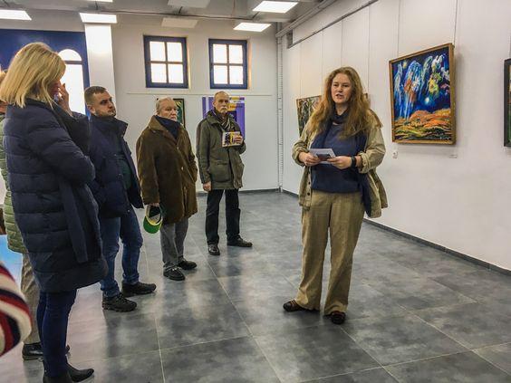 На выставке Израила Гершбурга. Фото Жени Шведы