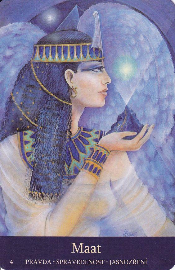 Maât est, dans la mythologie égyptienne, la déesse de l'ordre, de l'équilibre du monde, de l'équité, de la paix, de la vérité et de la justice.