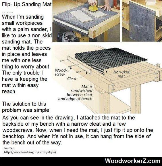 Flip- Up Sanding Mat