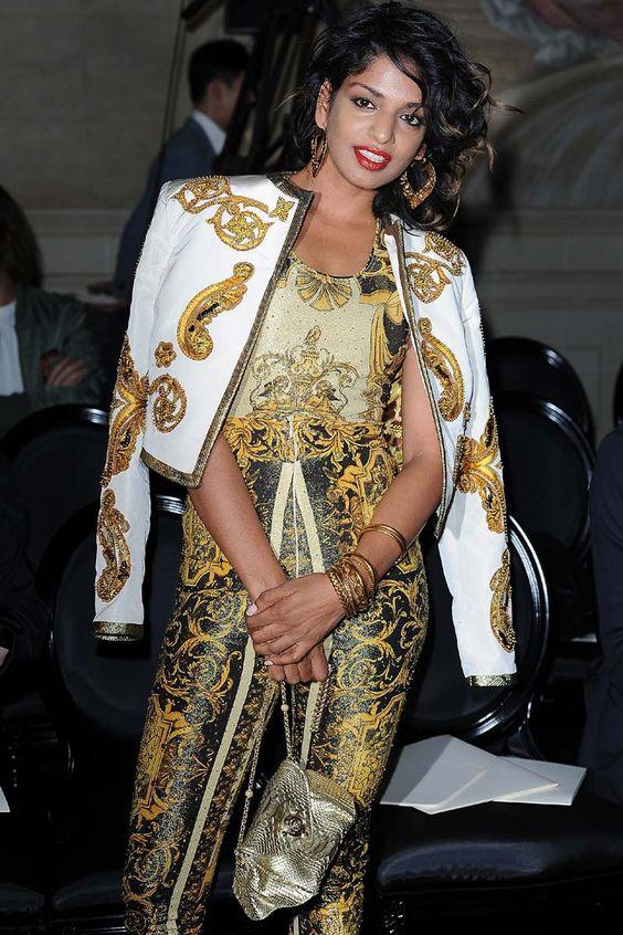 El nuevo Barroco: M.I.A. de Versace