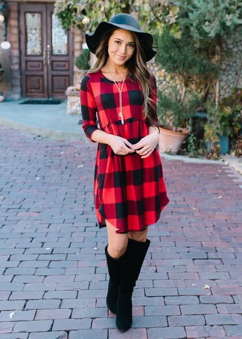 22+ Buffalo plaid dress for girls ideas in 2021