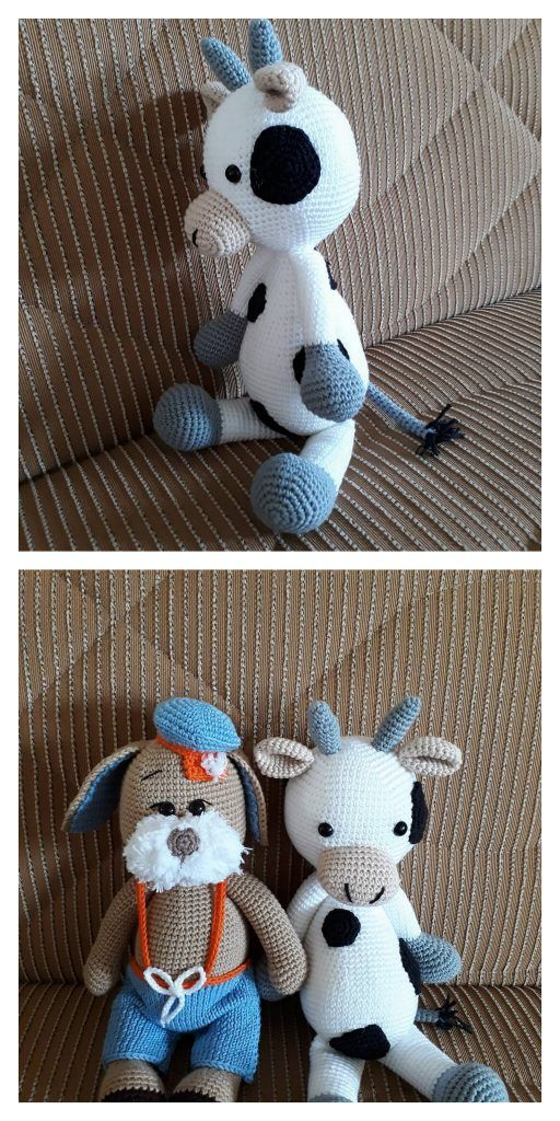 Angus, The Cow Amigurumi Free Pattern – Free Amigurumi Patterns ... | 1024x512