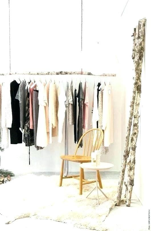 44++ Hang clothes bar from ceiling inspirations