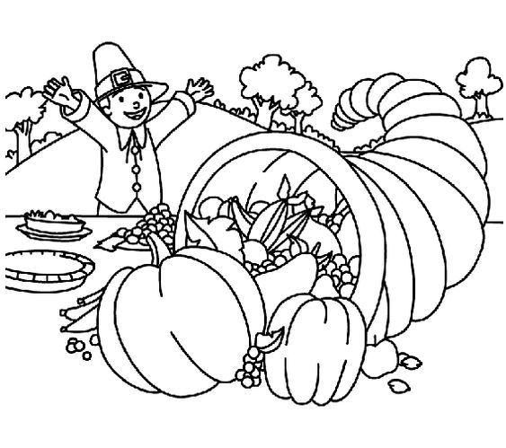 Thanksgiving Coloring Pages Autumn Decor Holidays Pinterest - new turkey coloring pages crayola