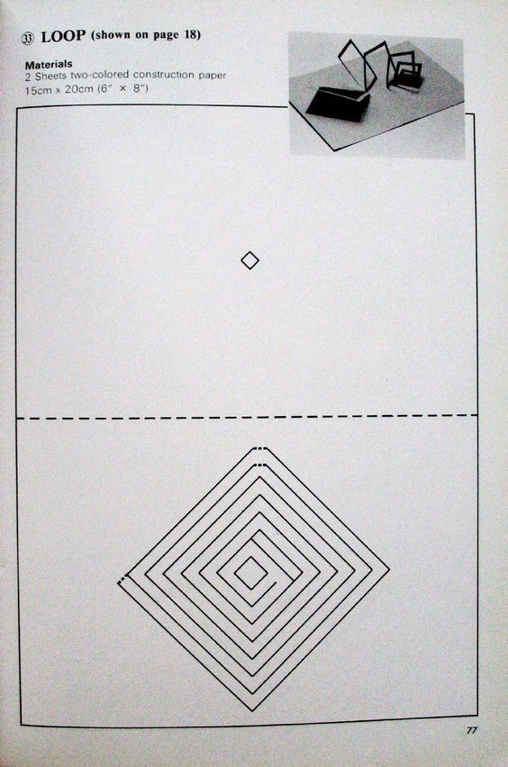 Pop Up Geometric Origami Geometric Origami Pop Up Art Pop Up Book