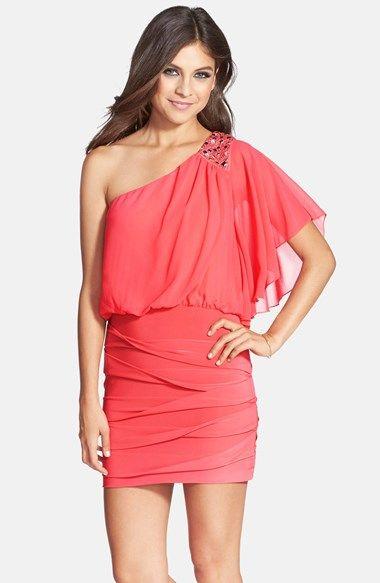 Red cocktail dress nordstrom 39