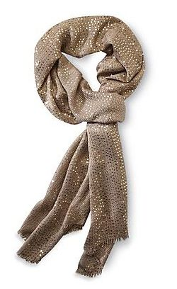 Awesome sequin scarf under $20. A little shopping for yourself maybe?