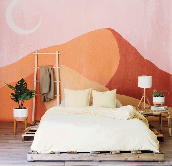 7 ideias de como pintar um mural de parede