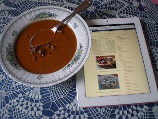 Hausfrau: Frische Ochsenschwanzsuppe - und ein paar Gedanken