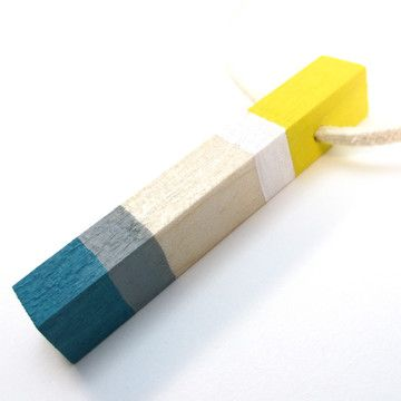 Josef Albers Necklace by Totem Color Blocks: Fine Crafts, Color Blocking, Necklace Josef, Color Blocks, Blocks Necklace, Albers Necklace, Albers Color, Handicraft Admiration