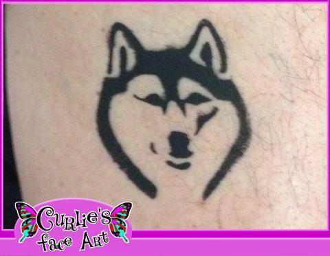 Husky_Airbrush_Tattoo.jpg (480×373)