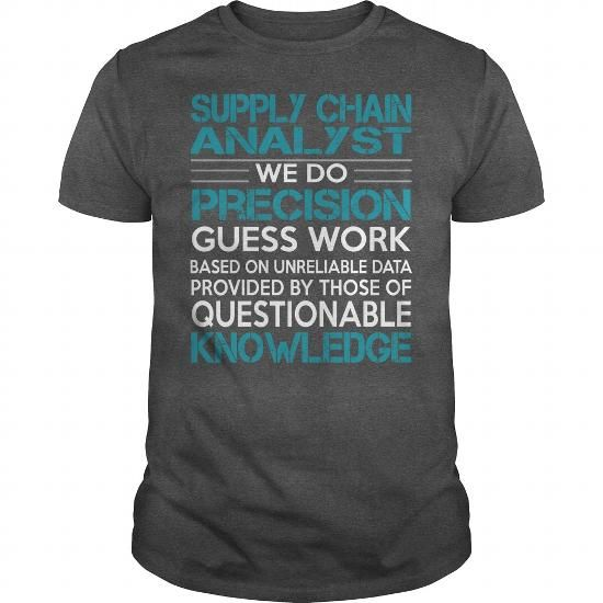 Awesome Tee For Supply Chain Analyst T Shirts, Hoodies. Get it now ==► https://www.sunfrog.com/LifeStyle/Awesome-Tee-For-Supply-Chain-Analyst-100515897-Dark-Grey-Guys.html?41382