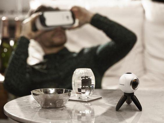 MWC 2016: Das kann die 360-Grad-Kamera Samsung Gear 360