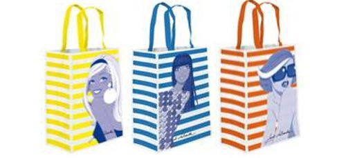 Bolsas de playa de Jordi Labanda: El regalo de Actimel verano 2012