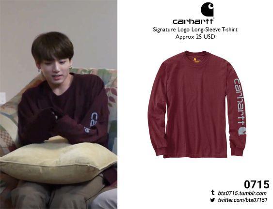 Carhartt - Signature logo long-sleeve t-shirt // (x)