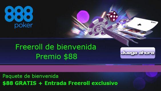 Freeroll de bienvenida para nuevos jugadores en 888poker.com http://www.allinlatampoker.com/sheldon-adelson-y-rick-perry-jugando-al-federalismo-sigue-con-su-ataque-al-juego-online/