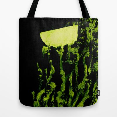 garden at night Tote Bag