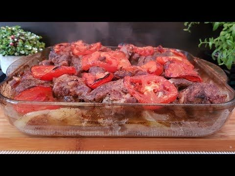 صينية اللحمه المشوية بالفرن مع البصل والبندوره والبطاطا من الاكلات السهله وسريعة التحضير Youtube In 2020 Food Beef Meatloaf