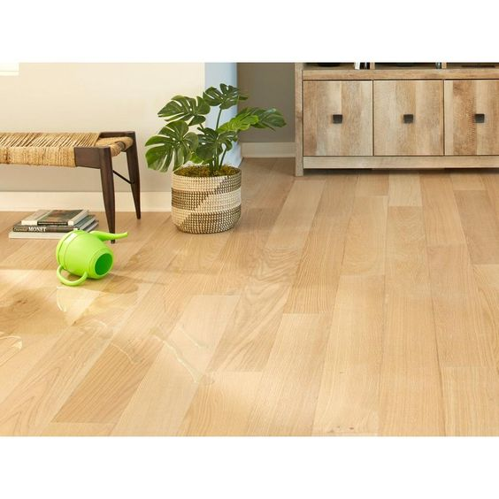 Ceruse Blonde Oak Wire Brushed Water Resistant Engineered Hardwood In 2020 Engineered Hardwood Hardwood Floor Colors Refinishing Floors
