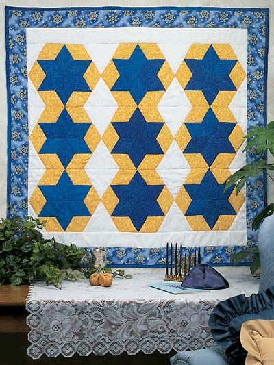 Quilt, The o jays and Star of david on Pinterest