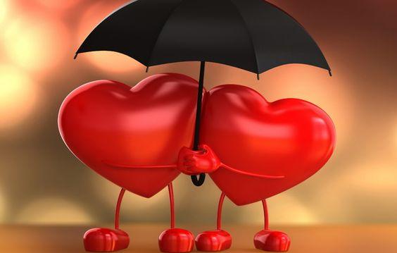 heart wallpaper | Love, heart, 3d, umbrella, heart, love, umbrella, love wallpapers ...