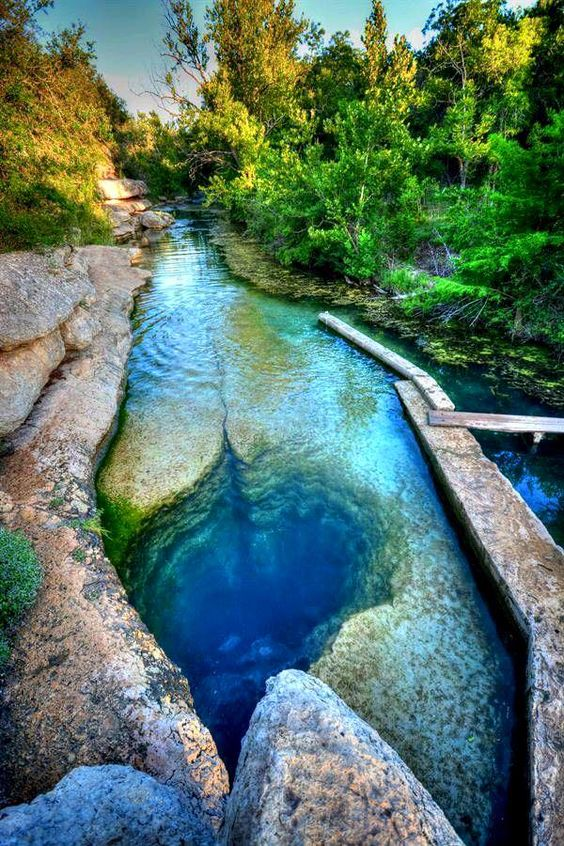 At around 120ft deep jacobs well is one of the deepest for Most beautiful places in america nature