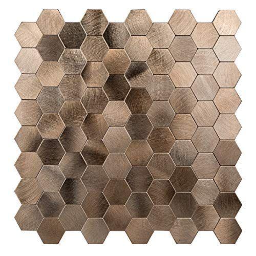 decopus peel and stick tile backsplash