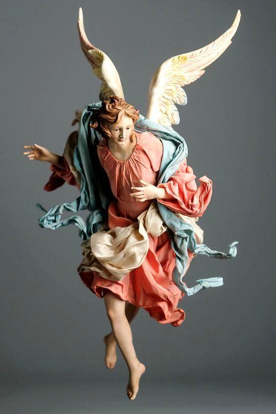ANGELO DEL PRESEPE.- Arte napoletana contemporanea. | Angeli, Arte