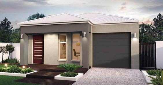 Home Facade option 01 | Facades | Pinterest | Clever design ...