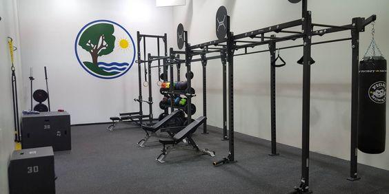 Racquet Ball Room Transformation – Geneva Parks, IL