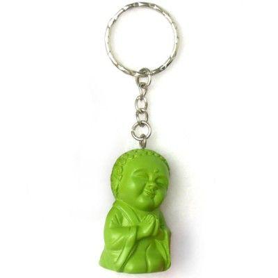 Nyckelring, Buddha Grön: