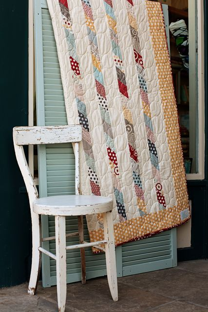 lighthouse quilt (pattern)  Of course, it is from Sweetwater!  Love them!