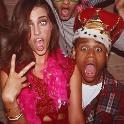 Jessica Lowndes and Tristan Wilds :) aka Adrianna and Dixon!!