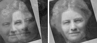 Using Photoshop to determine if two photographs are the same ancestor: Work, Family Photos, Child Photo, Genealogy Photoshop, Child S Photo, Grandmother, Genealogy Photographs