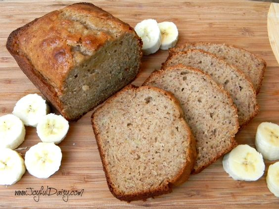 EASY GLUTEN FREE BANANA BREAD from CAKE MIX - JOYFUL DAISY
