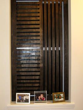 DIY Window privacy screens