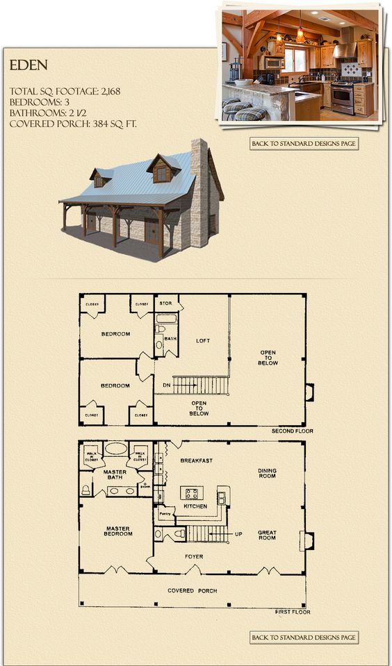 Barn homes post and beam and log home plans on pinterest Post frame homes plans