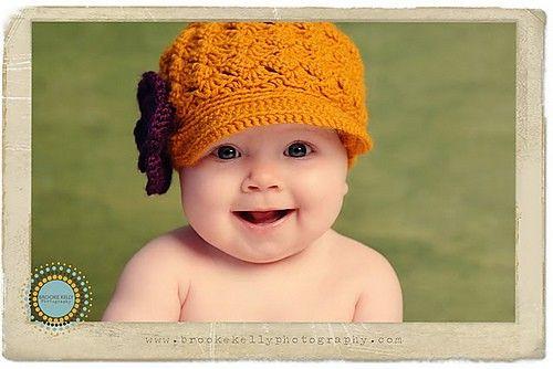 Cute baby hat!