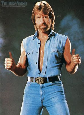 Chuck Norris is so tough that bad guys recoil in fear at ...