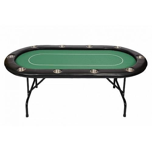 Riverboat Gaming 10 Person Pro Poker Table Green Bcfolding Green Poker Table Poker Table