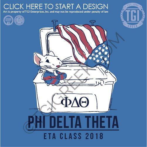 Phi Delt Lettered Basic Shirt Phi Delta Theta Comfort Colors T-Shirt