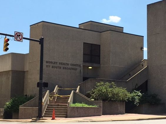 Akron's new municipal courthouse will be built on the site of the Morley Health Center with money from the court's special projects fund.