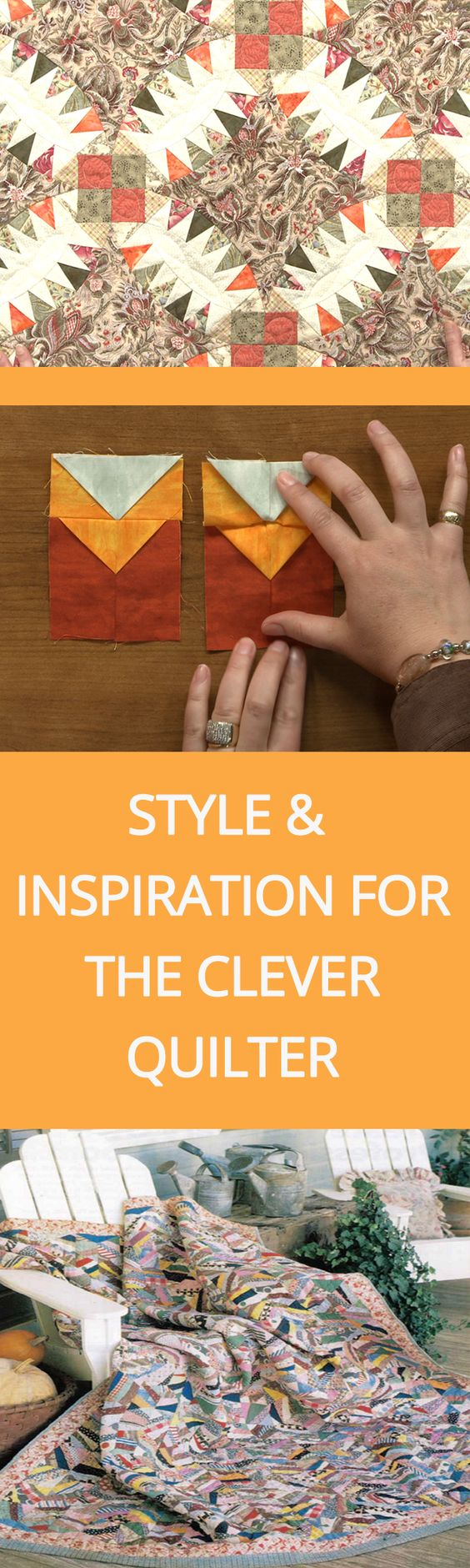 Style and Inspiration for the Clever Quilter Download | National Quilters Circle  #LetsQuilt