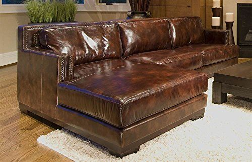 Top Grain Leather Sectional Sofas
