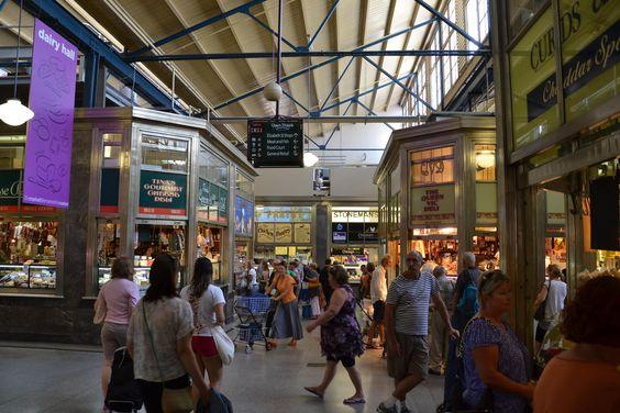 Mercado em Melbourne, Austrália