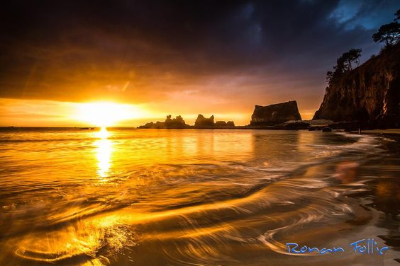 Magic sunrise by Ronan Follic on 500px