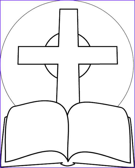 Free Bible Coloring Pages For Kids7 Holy Bible Coloring Bible Coloring  Pages, Cross Coloring Page, Bible Coloring