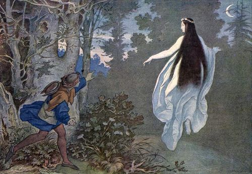 The Moon Fairy, Moritz von Schwind